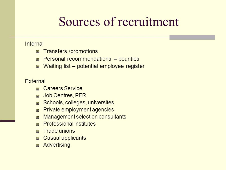 Aims of recruitment advertising 1) Locate and attract suitable candidates -- reader to practise self selection and self elimination 2) Inform readers about the company, job, type of person required 3) Stimulate action on the part of the reader 4) Facilitate future recruitment 5) Achieve 1-5 within an acceptable expenditure figure