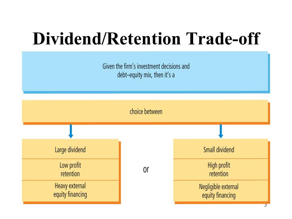 3 Dividend/Retention Trade-off