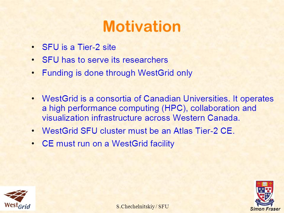 S.Chechelnitskiy / SFU Simon Fraser Running SE-dcache in XEN Motivation Reliability.