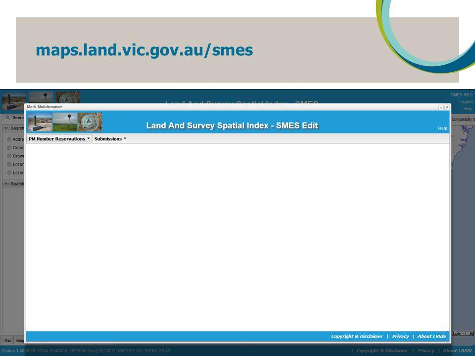 maps.land.vic.gov.au/smes 15