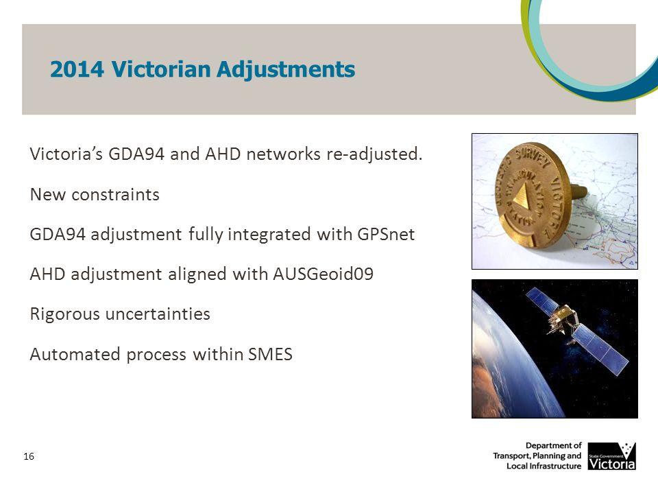 2014 Victorian GDA94 Re-adjustment 17 UncertaintyPercentage 0.050 89% 0.02564% 0.0250% 0.0112%