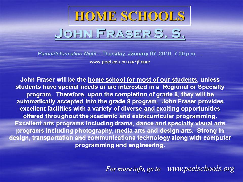 John Fraser S. S. John Fraser S. S.