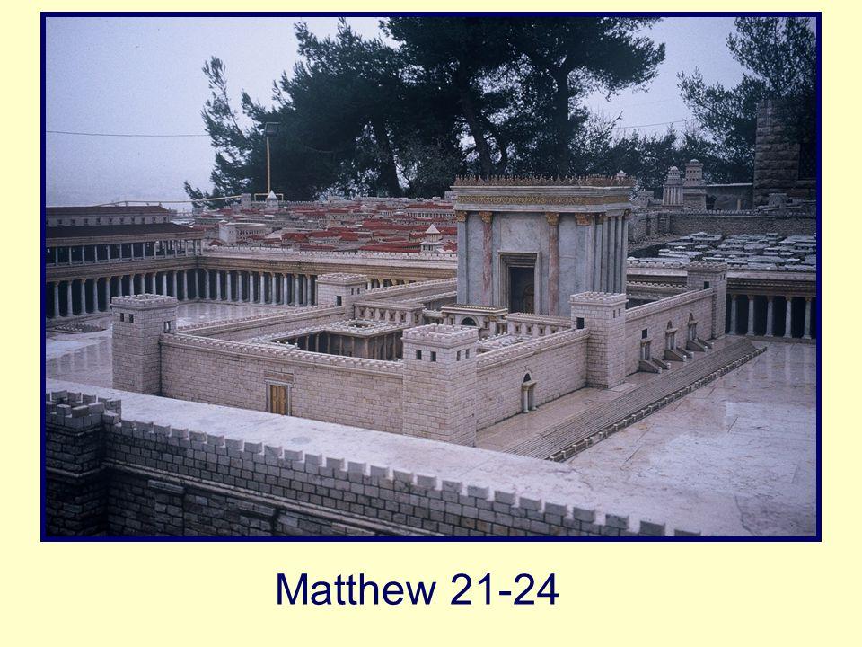 Matthew 21-24