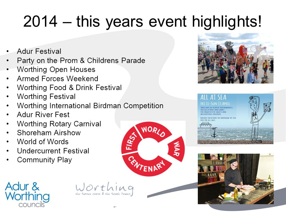 2014 – this years event highlights.