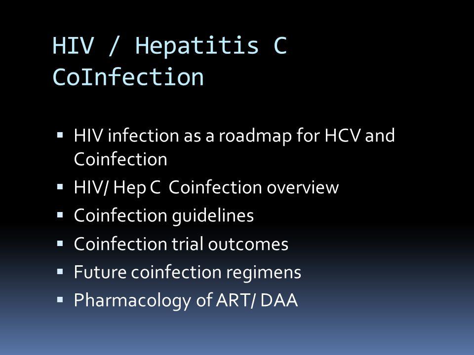 HIV impact on Hep C Infection