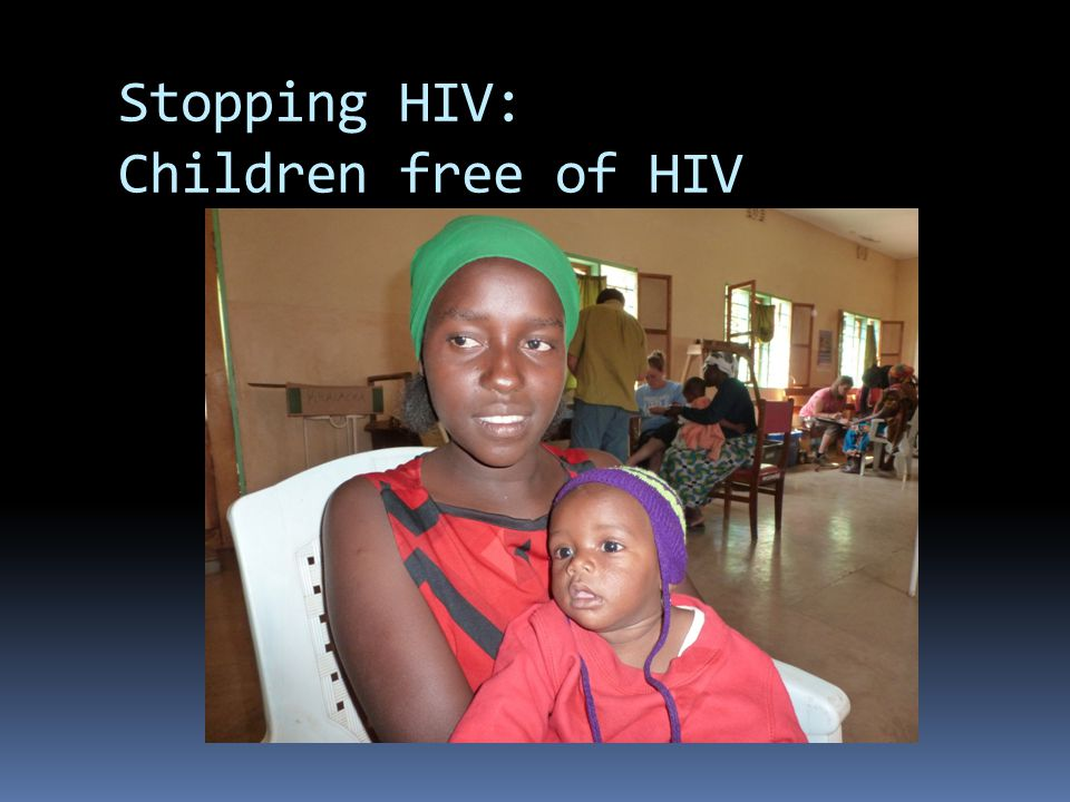 Stopping HIV: Children free of HIV