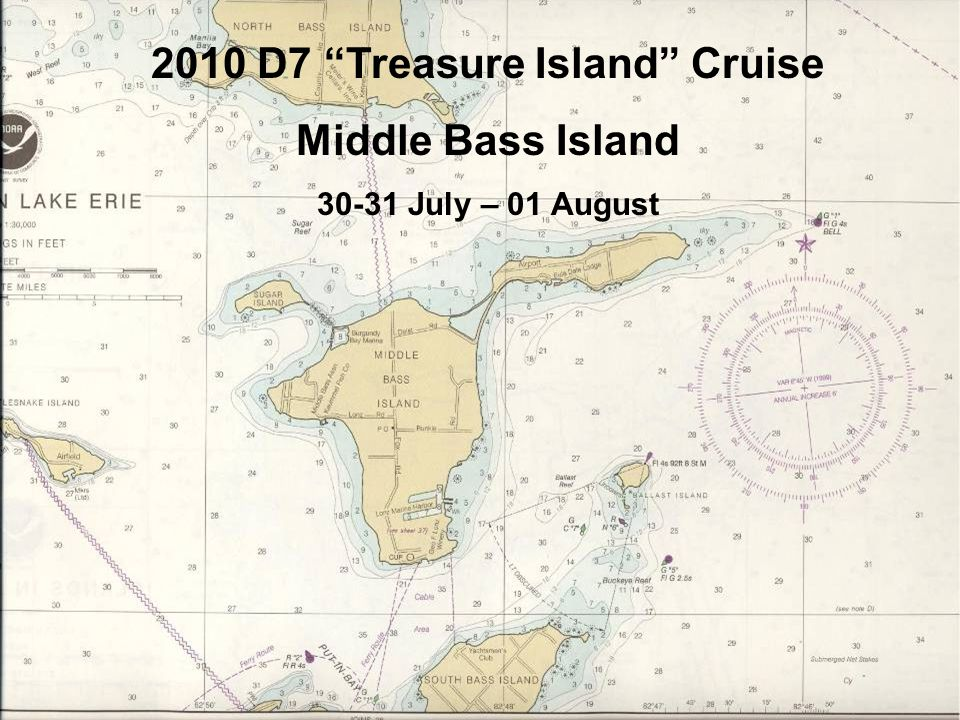 2010 D7 Treasure Island Cruise Middle Bass Island 30-31 July – 01 August