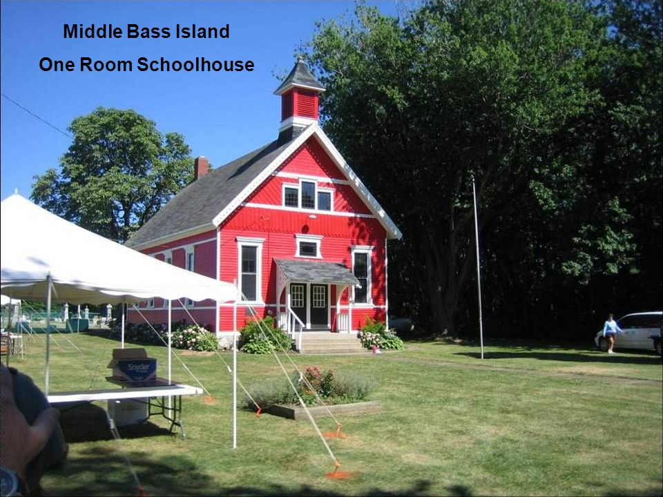 Middle Bass Island One Room Schoolhouse