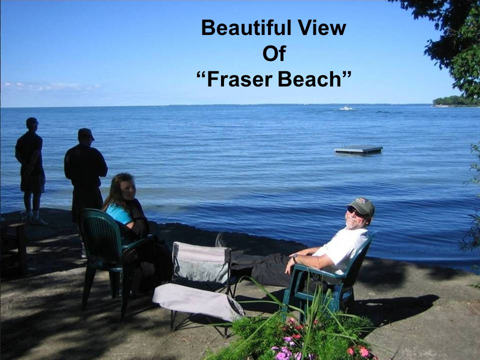Beautiful View Of Fraser Beach