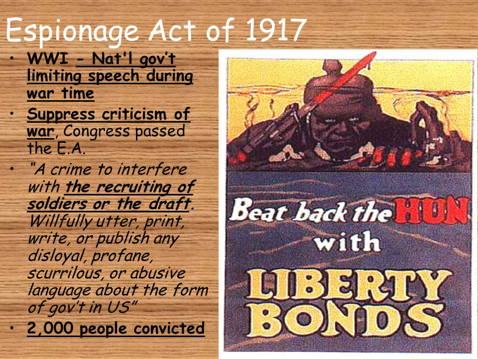 Sedition Act of 1798 The urging of resistance to lawful authority or rebellion against the government. A crime to write, print, or say any false, scandalous, and malicious statements against the gov't and its officials.