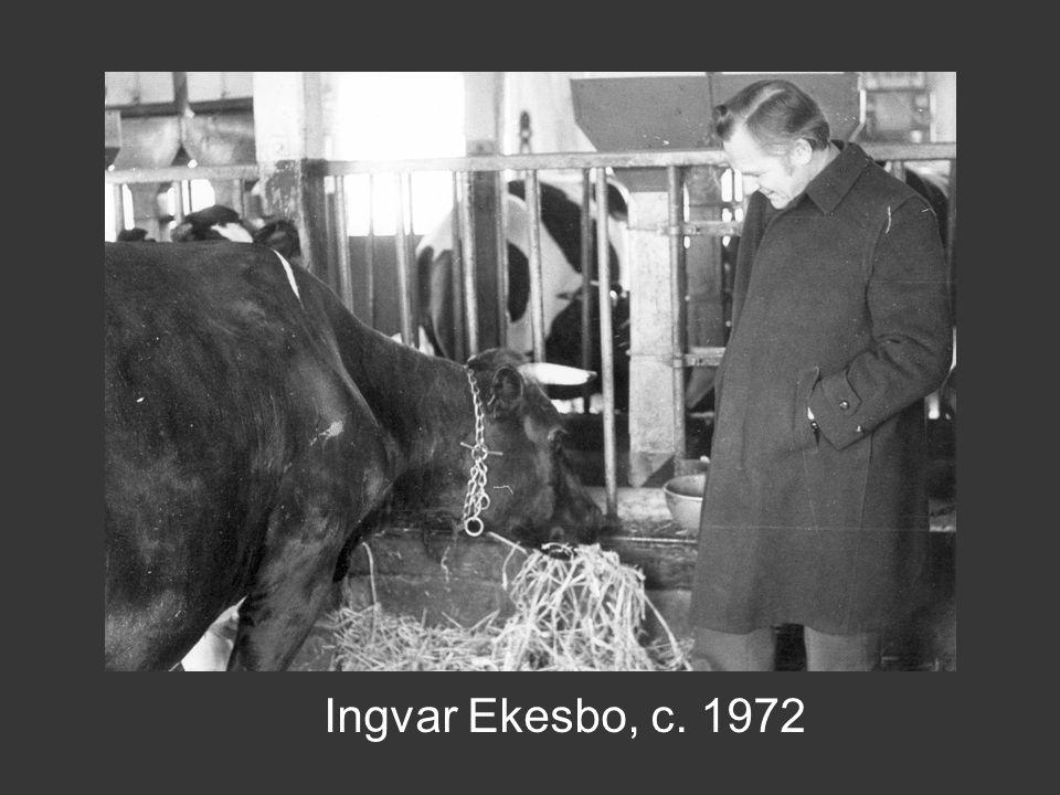 Ingvar Ekesbo, c. 1972