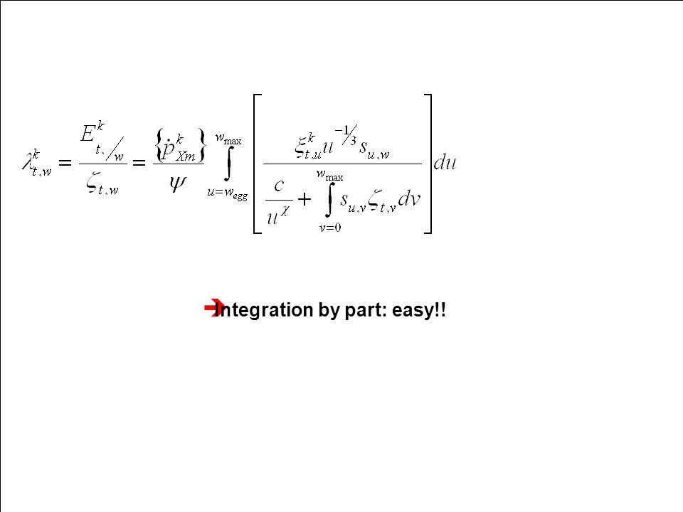  Integration by part: easy!!