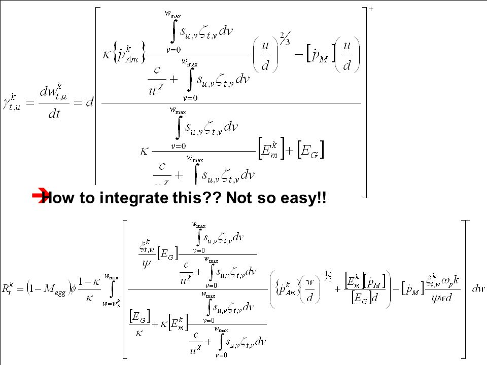  How to integrate this?? Not so easy!!