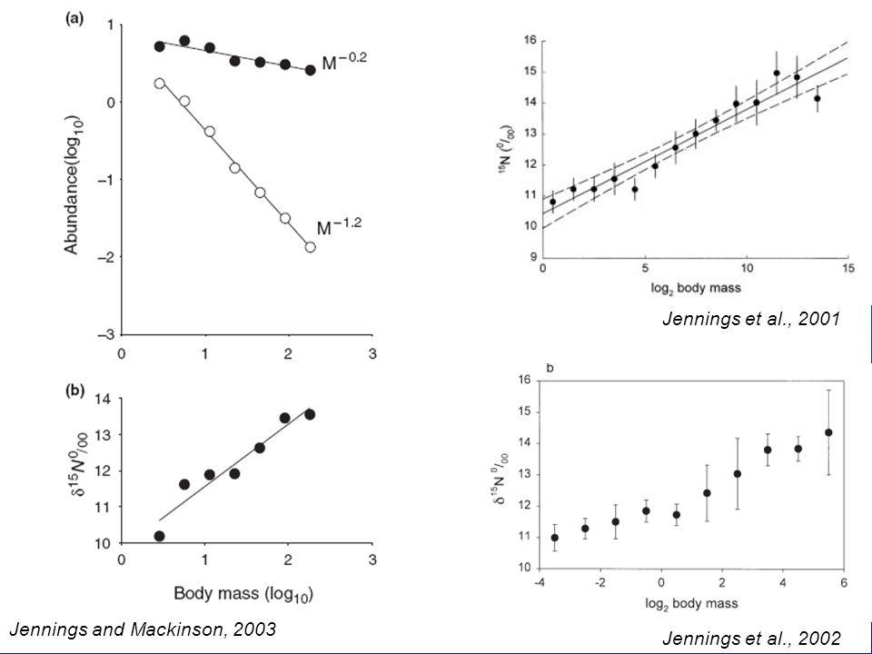 Jennings and Mackinson, 2003 Jennings et al., 2002 Jennings et al., 2001