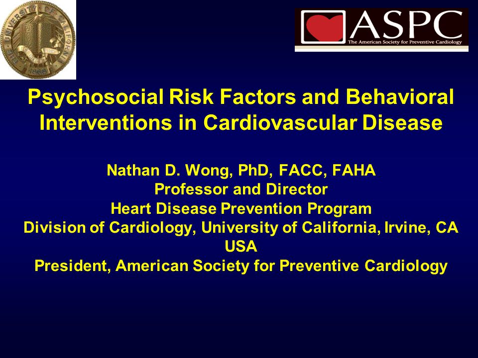 From Rozanski A, Chap. 34 Preventive Cardiology, Blumenthal, Foody, Wong, eds.