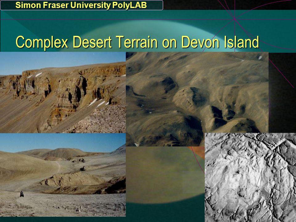 Simon Fraser University PolyLAB Complex Desert Terrain on Devon Island