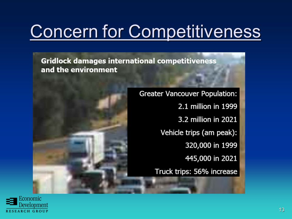 13 Concern for Competitiveness