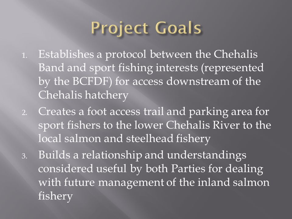 Lower Chehalis River Access Area