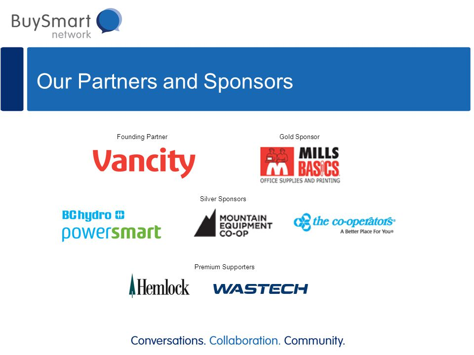 Our Partners and Sponsors Founding Partner Premium Supporters Silver Sponsors Gold Sponsor