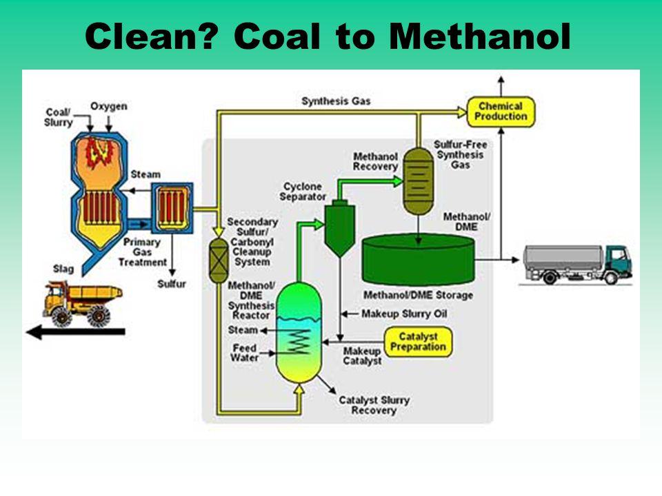 Clean? Coal to Methanol