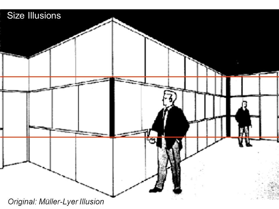 Size Illusions Original: Müller-Lyer Illusion