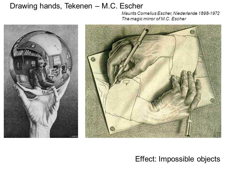 Drawing hands, Tekenen – M.C.