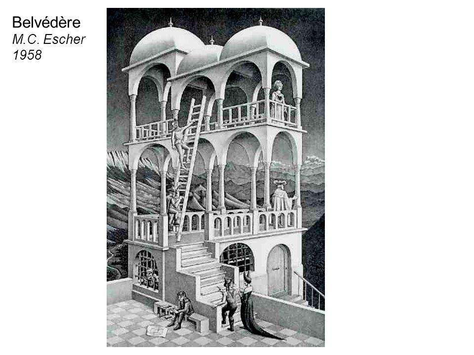 Belvédère M.C. Escher 1958