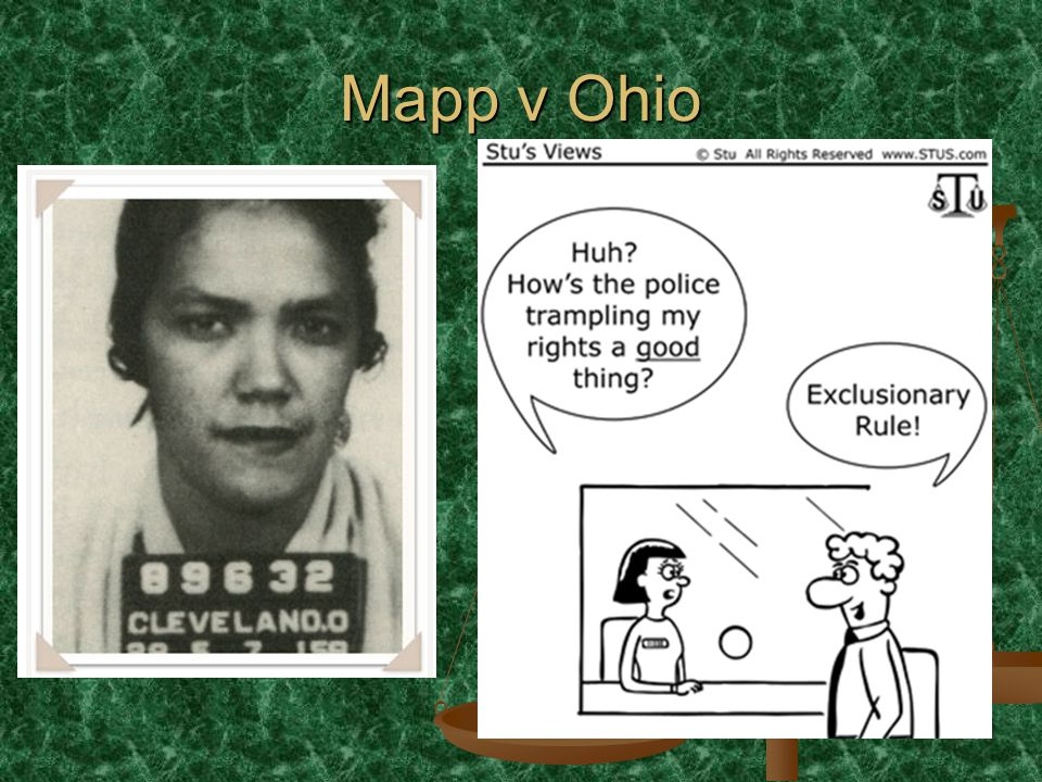 Mapp v Ohio