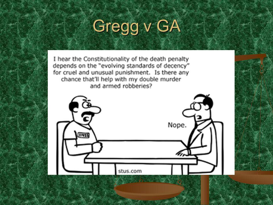 Gregg v GA