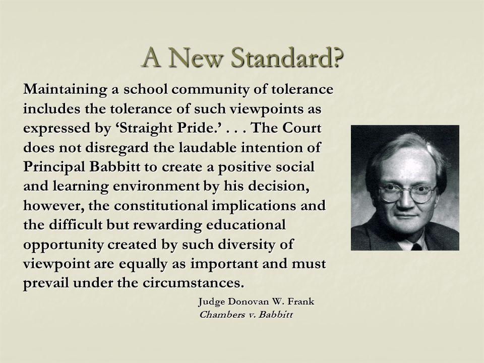 A New Standard.