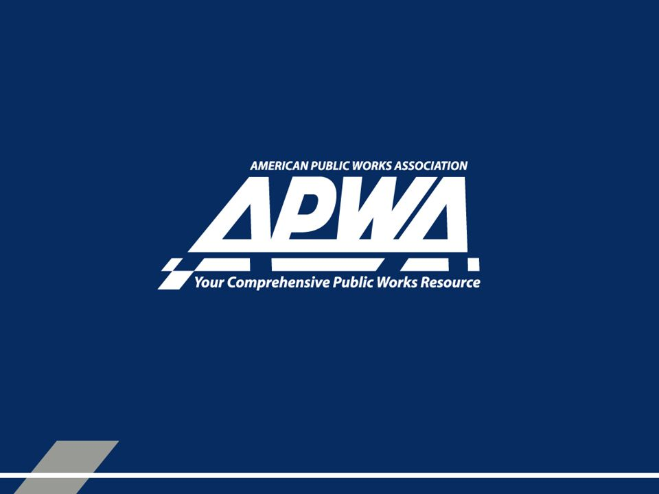 The Next Generation of APWA Players APWA National Overview to College Students and Young Professionals