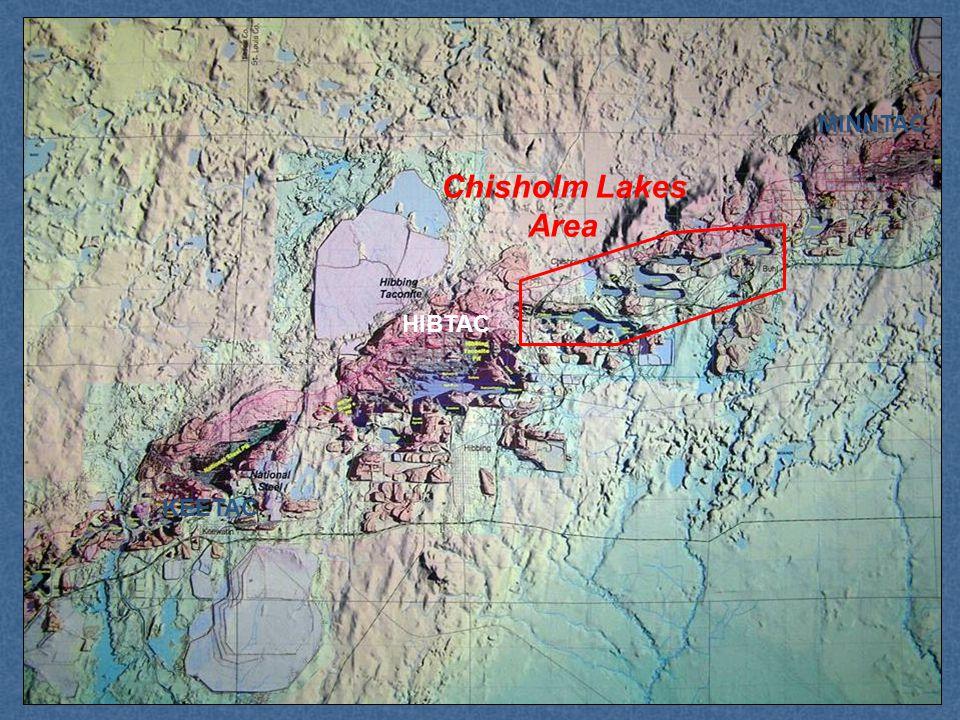 MINNTAC KEETAC HIBTAC Chisholm Lakes Area