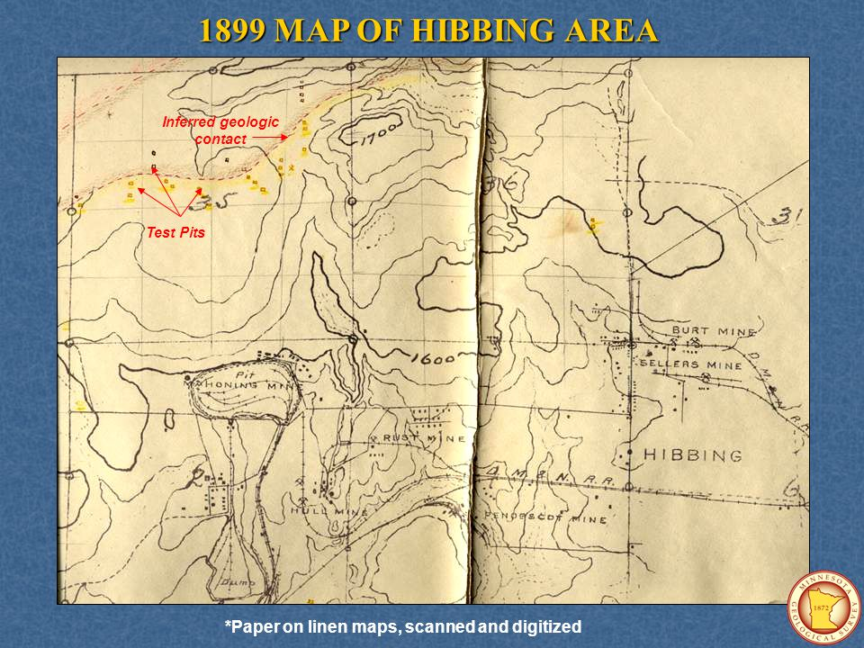 FINAL PRODUCTS Available as Minnesota Geological Survey Open-File Report #07-02: Bedrock and Quaternary geology of the Central Mesabi Iron Range, northeastern Minnesota by Mark A.