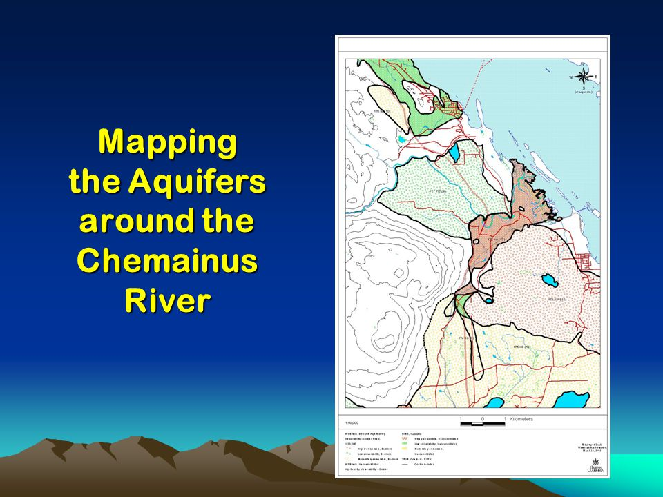 Mapping the Aquifers around the Chemainus River