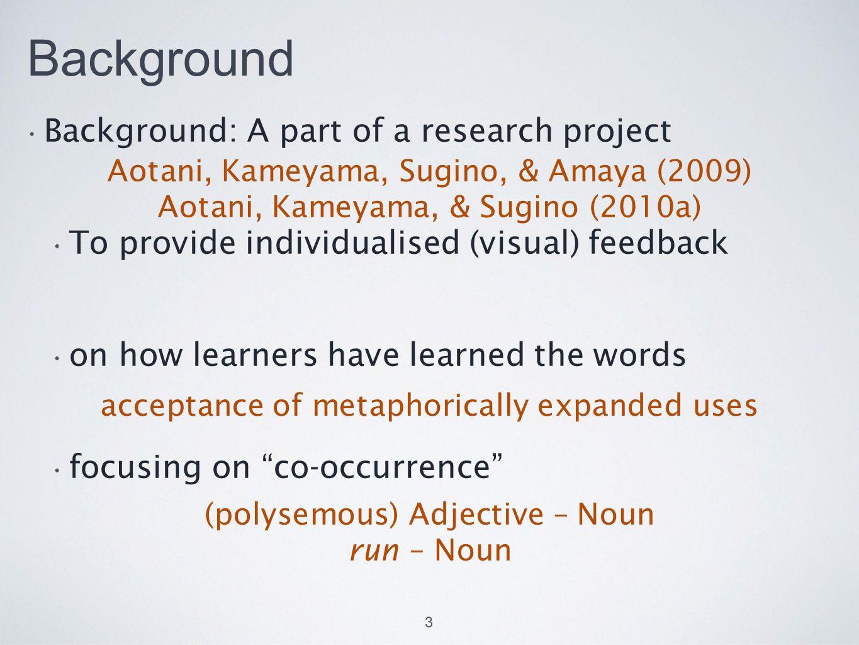 References Aotani, N., Kameyama, T., Sugino, N., & Amaya, Y.