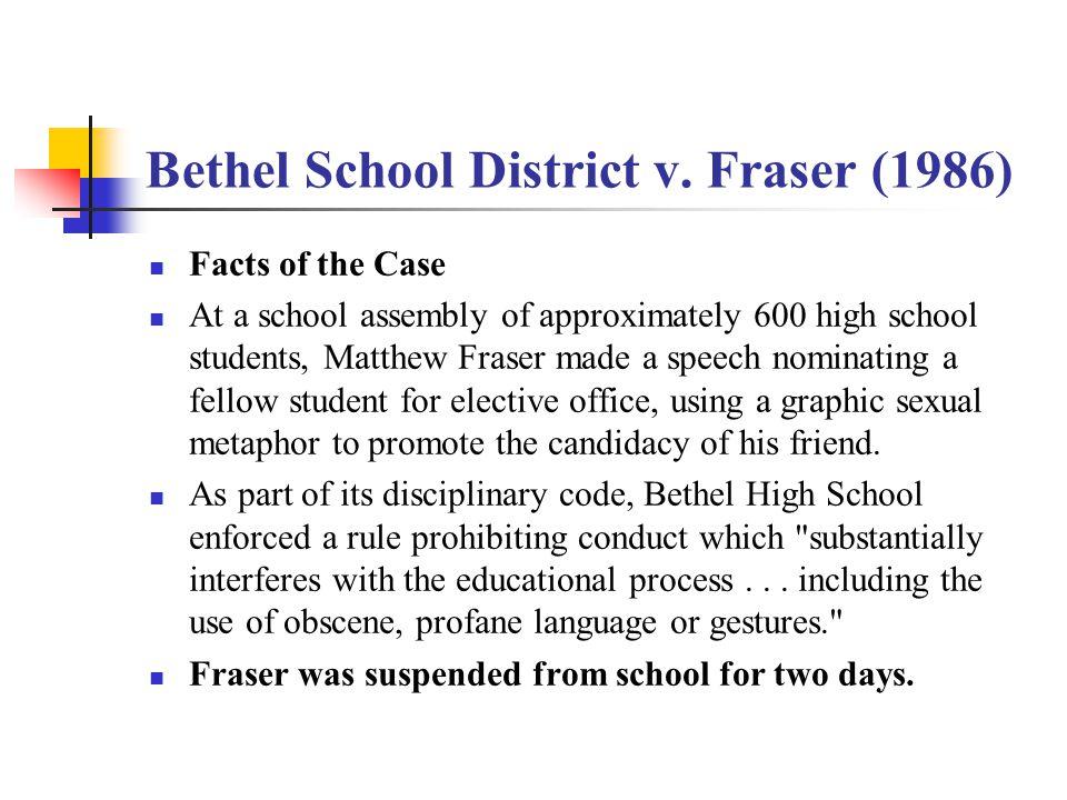 Bethel School District v.