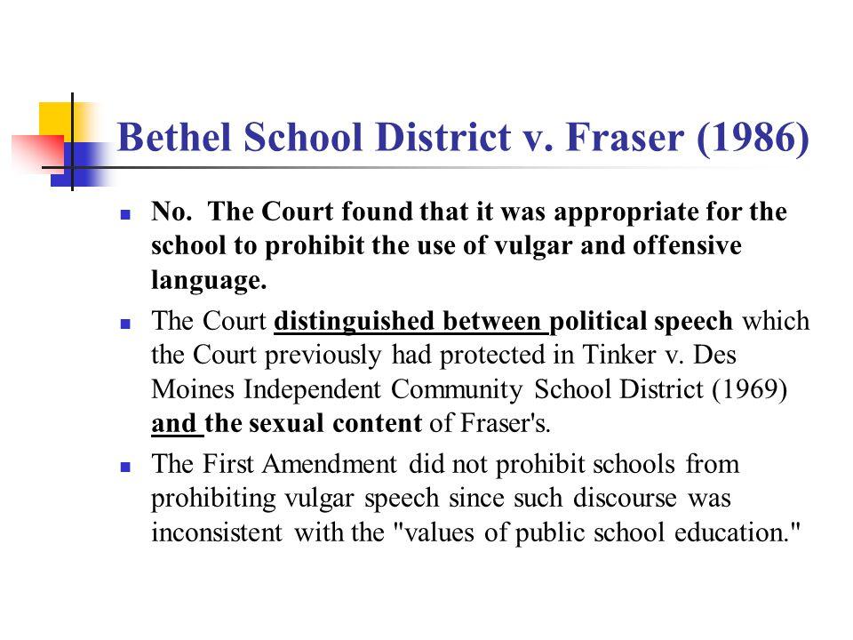 Hazelwood School District v.