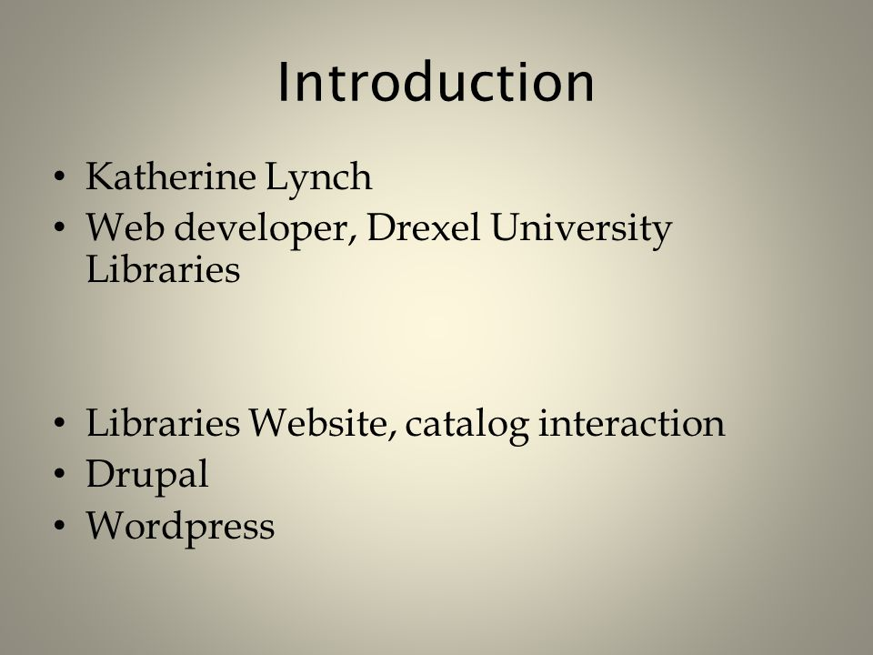 LDAP Integration Works with LDAP Provisioning module Three-in-one: – Authentication – Groups (Drupal roles) – Data (read/write LDAP data from Drupal) Use LDAP authentication to log in, create Drupal users to help minimize security threats on students' data.