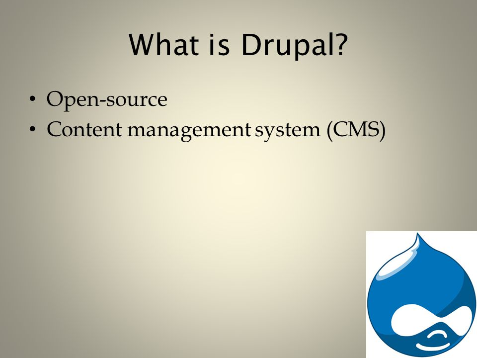 Building Blocks of Drupal Views are: – A way of displaying data on pages in Drupal without having to edit the HTML Views can: – Dynamically display data using logic built around facets of the relevant data