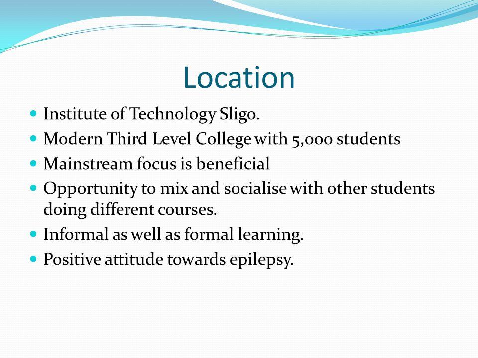 Location Institute of Technology Sligo.