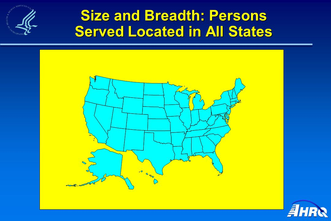 Size and Breadth: Persons Served Located in All States