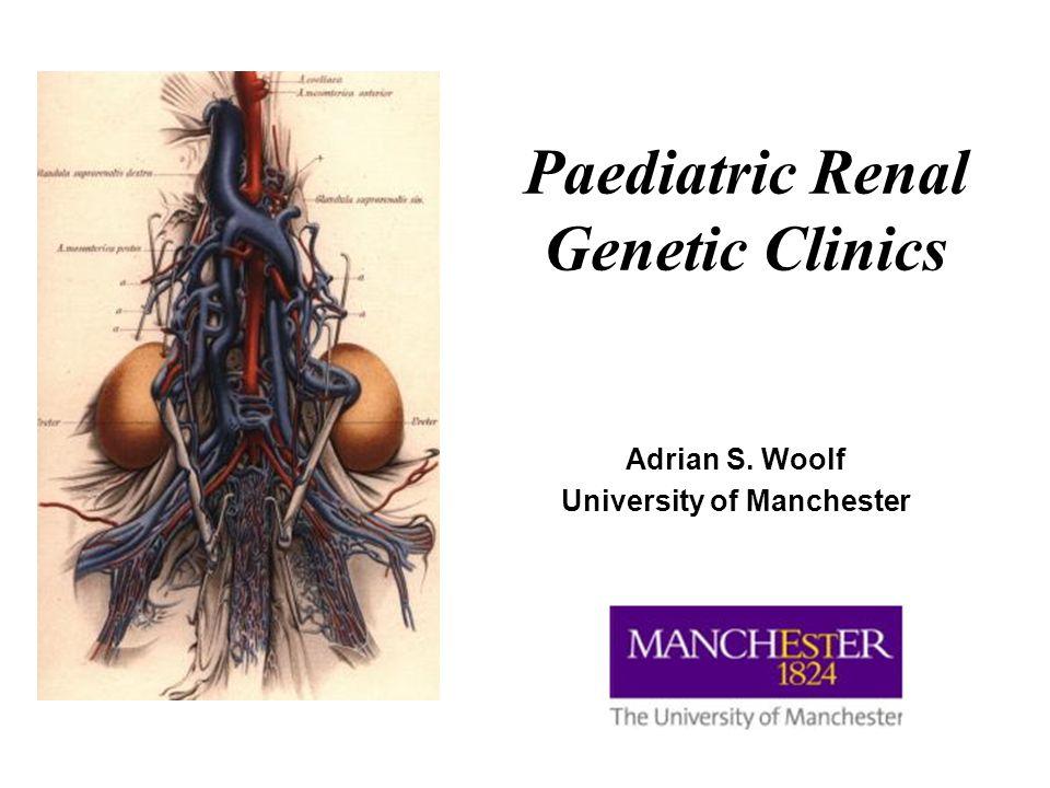 Children's Hospital and University of Manchester, UK