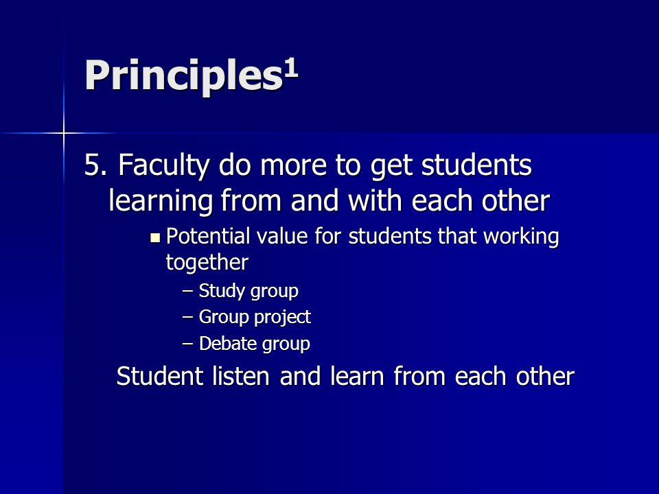 Principles 1 5.