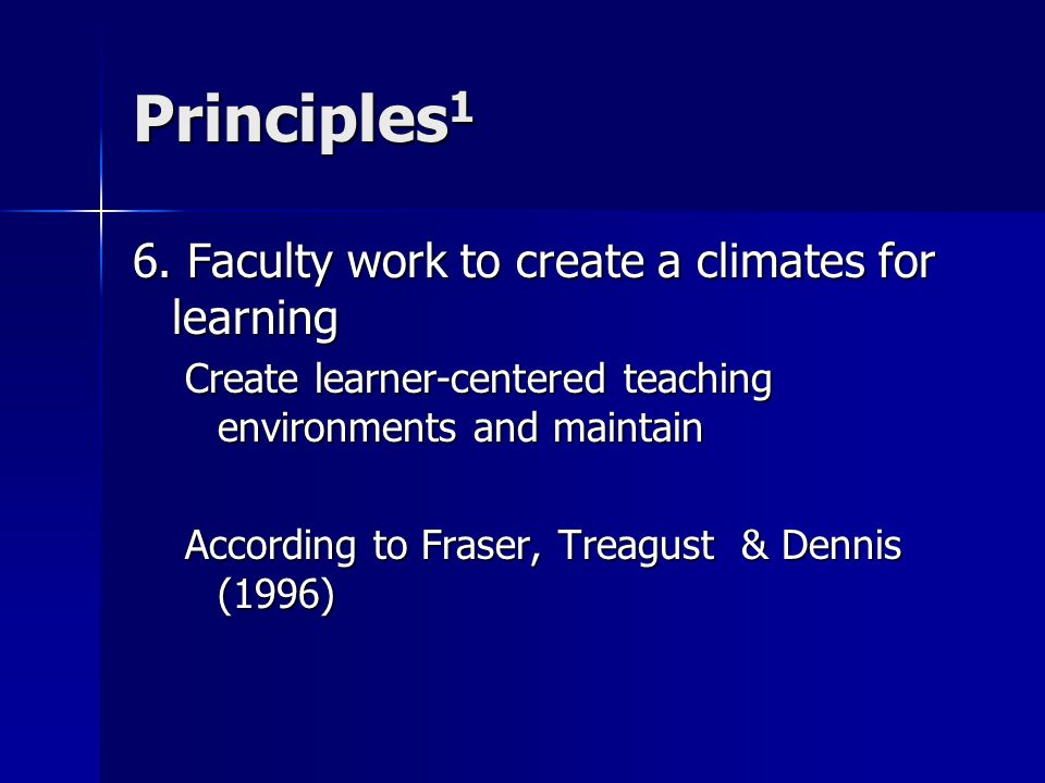 Principles 1 6.
