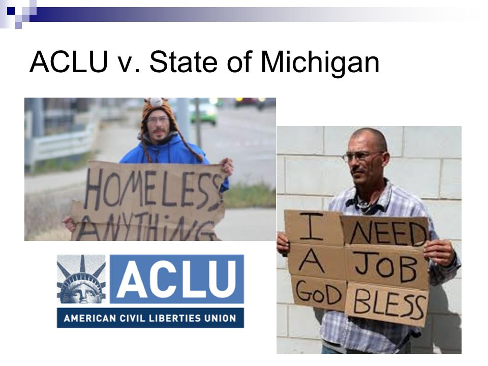 ACLU v. State of Michigan