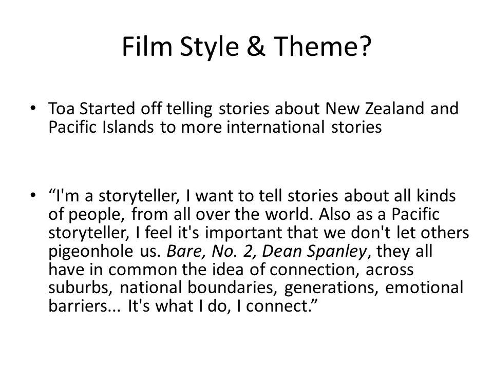 Film Style & Theme.