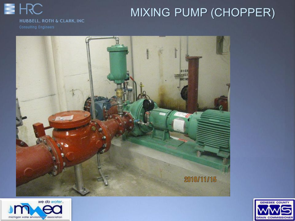 MIXING PUMP (CHOPPER)