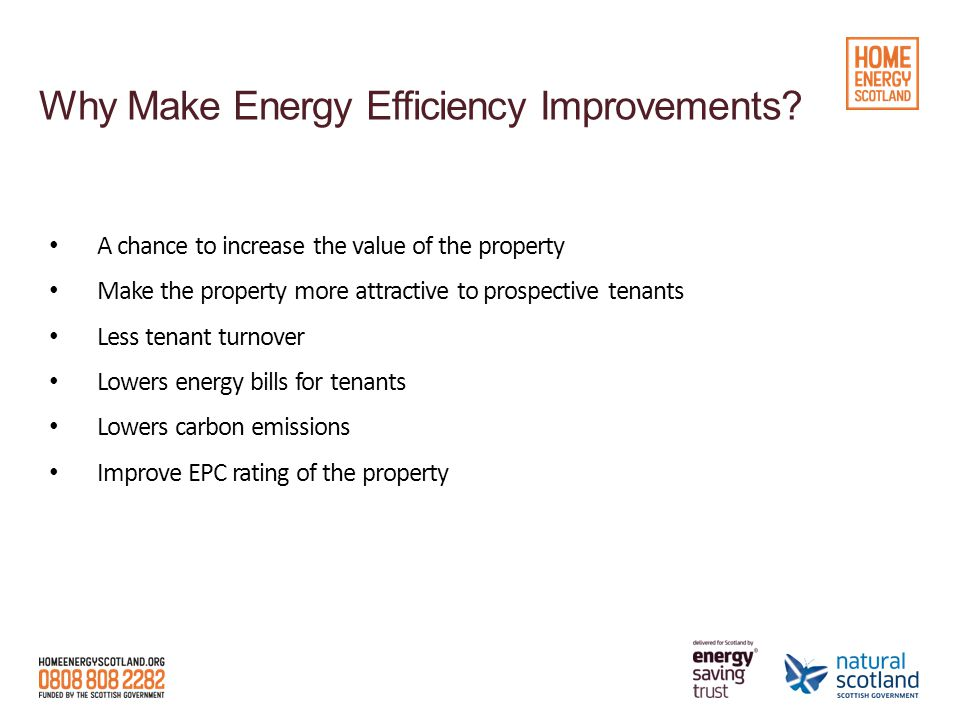 Interest free loan available of £1,000 - £100,000 4 year payback for energy efficiency measure 8 year payback for renewable measure (5% Interest) Measure must be recommended on a Qualifying Report Green Deal Assessment EPC in certain cases Include in application that you have looked at the option of Green Deal finance Small Business Loan