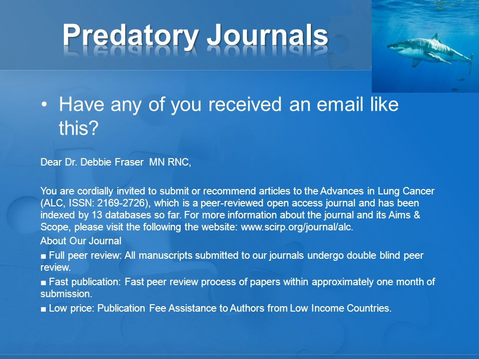 Question: –Can I publish two, three or more articles from one study.