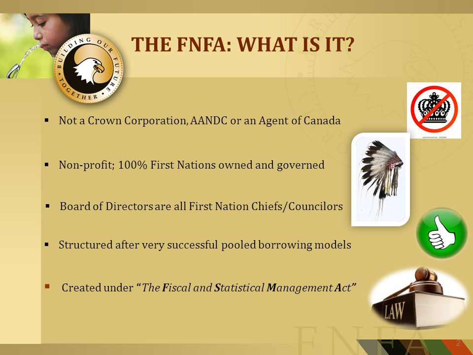 THE FNFA: WHAT IS IT.